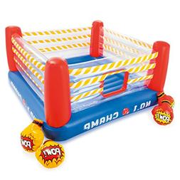 Intex Inflatable Jump-O-Lene 89 Inch Play Boxing Ring Bounce