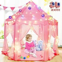 Kids Children Playing Play Tent Indoor Outdoor Playhouse Tee
