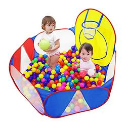 Kids Pit Large Pop Childrens Ball Pits Tent for Toddlers Pla