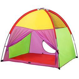 kids play tent camping indoor outdoor children