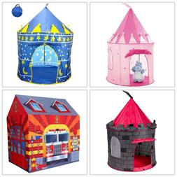 Kids Play Tent Toy Castle Prince Princess Indoor Outdoor Toy