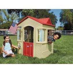 Kids Playhouse Outdoor Indoor Little Tikes Cottage Toddler C