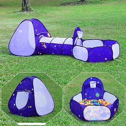 kids tent with tunnel pop up playhouse