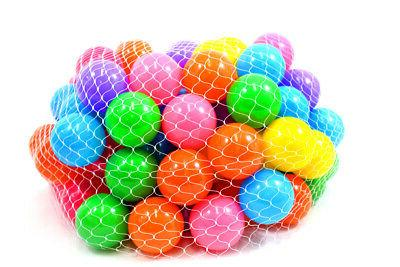100 pc pit balls refill tent playhouse
