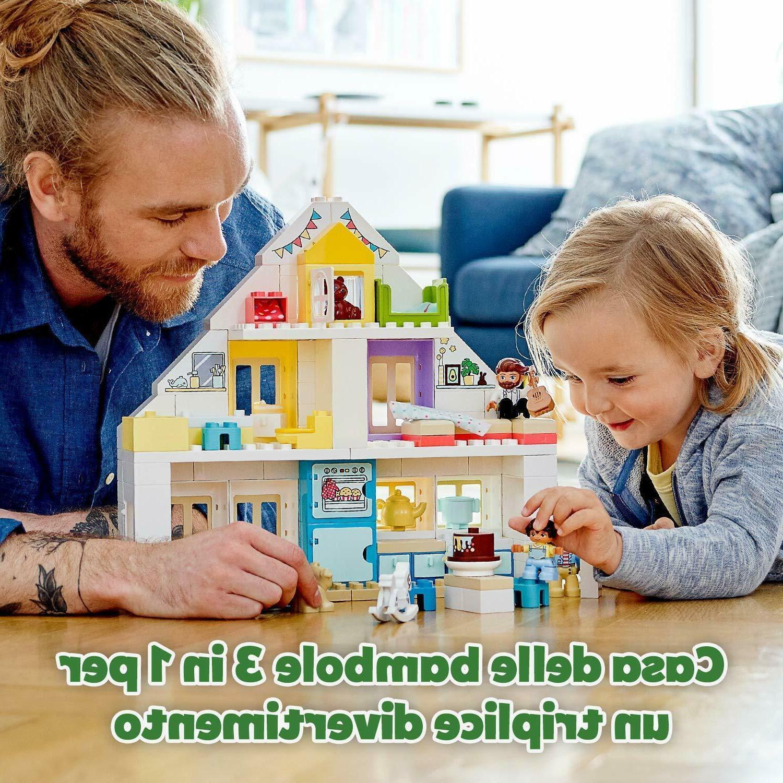 LEGO 10929 DUPLO Modular 3-in-1 Dolls for 2+ Year