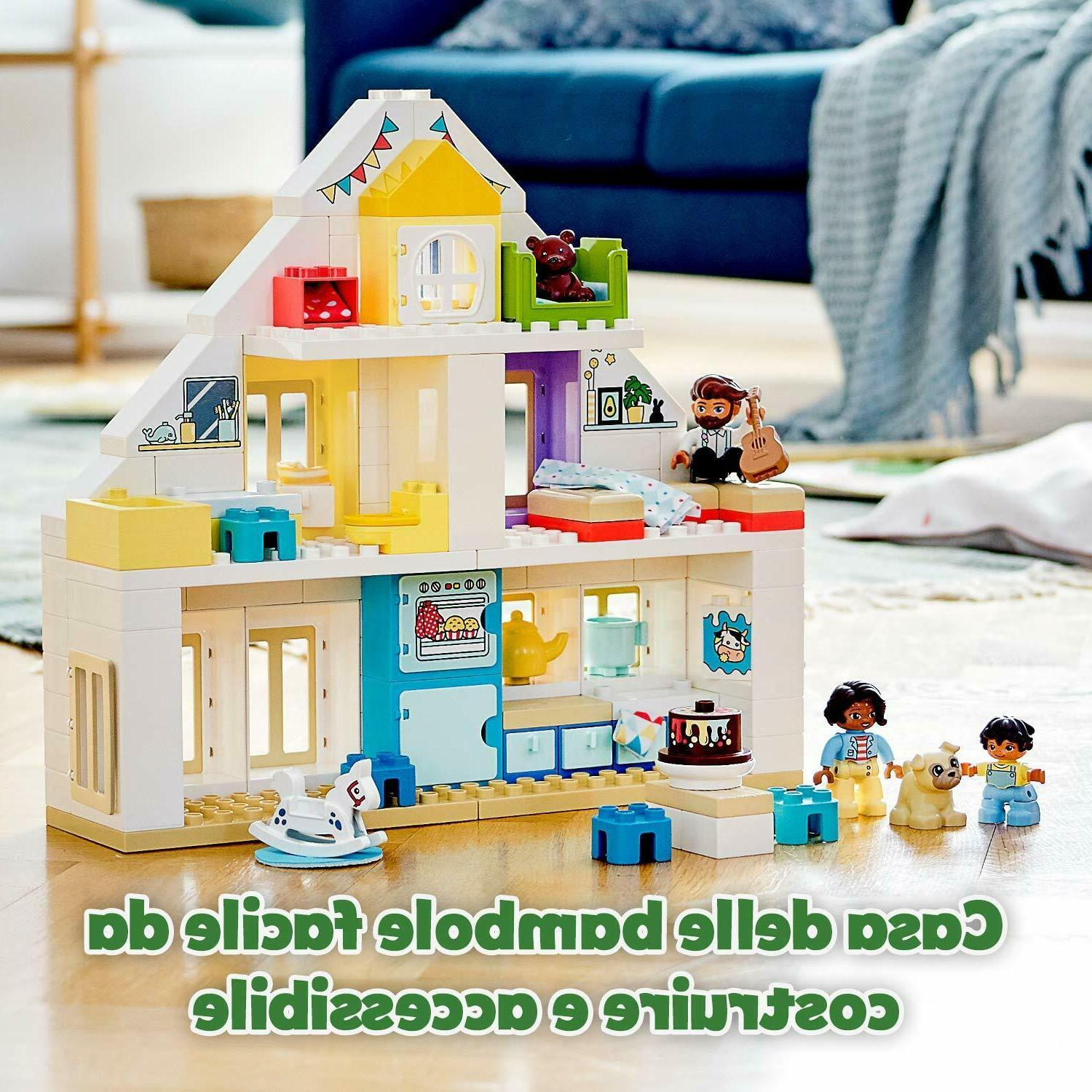 LEGO DUPLO Modular 3-in-1 Dolls House for 2+ Year Old