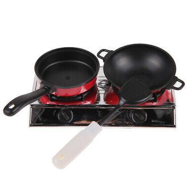 13 Pans Kitchen Play Utensils