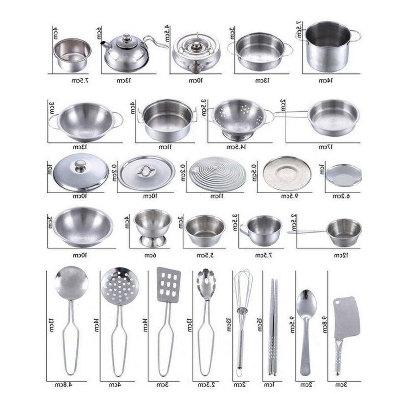 16 Play Toys Pans