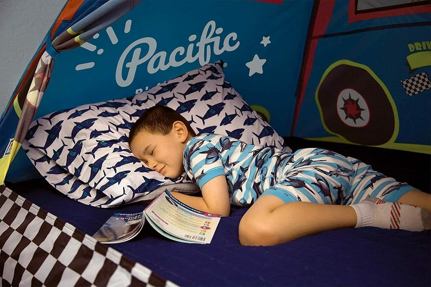 Kids Racer Bed Tent Playhouse Size