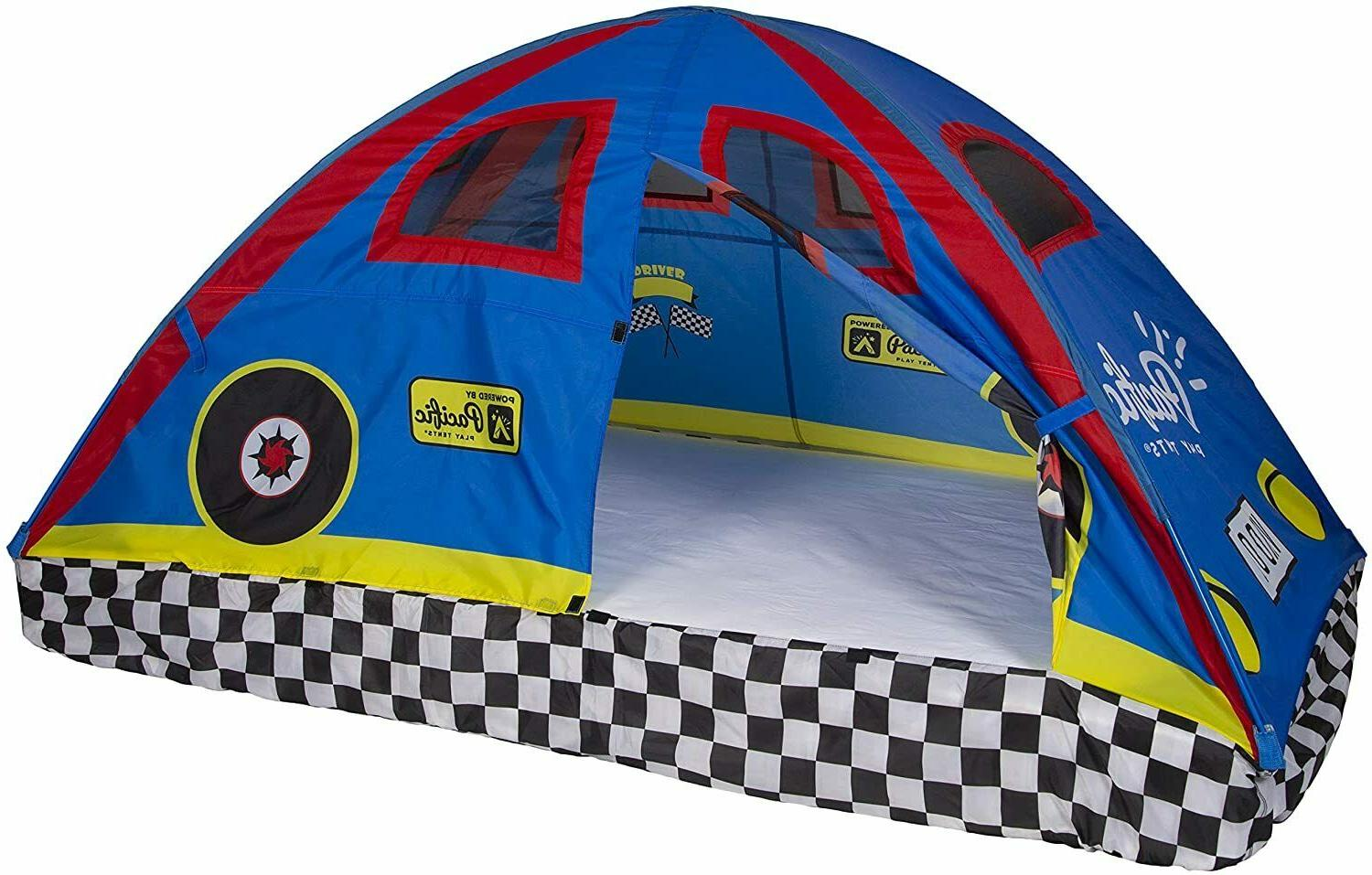 19710 kids rad racer bed tent playhouse