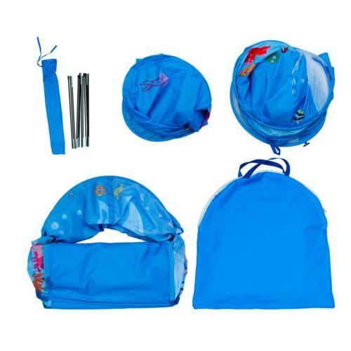 2 in 1 Play Children Indoor Outdoor playhouse tunnel boys girls gift