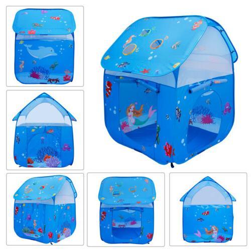 2 1 Kids Play Tent Children Outdoor tunnel girls