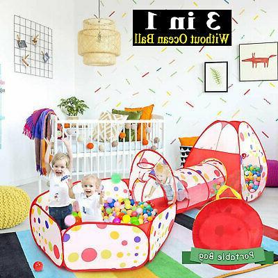 3 in 1 children kid play tent