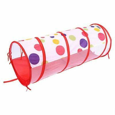 3 Toddlers Tunnel Pop Up Play Indoor Toy