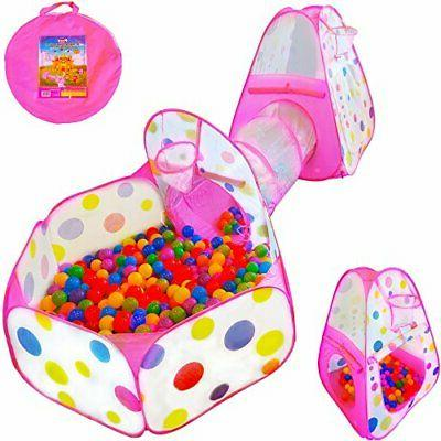 Playz Ball Pit Pop Playhouse Tent with