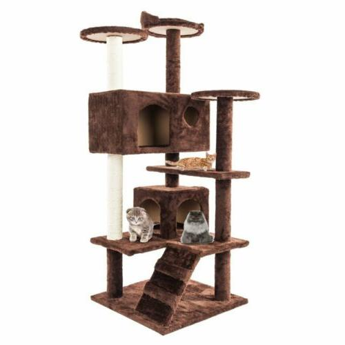 """52"""" Tower Condo Furniture Pet Toy"""