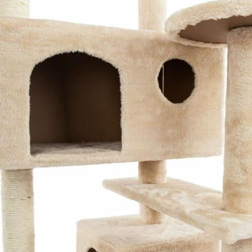 "52"" Cat Condo Pet House Toy"
