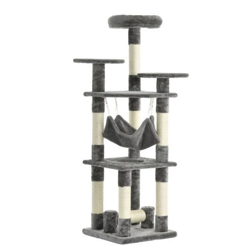 """52"""" Tree Tower Furniture Scratching House"""