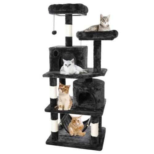 """57"""" Condo Pet Furniture Play House with Hammock"""