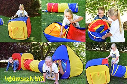 Kiddey Tent Ball Set Durable Up Playhouse Tent Boys, Babies, Toddlers – & Outdoor Use, Case, -Great