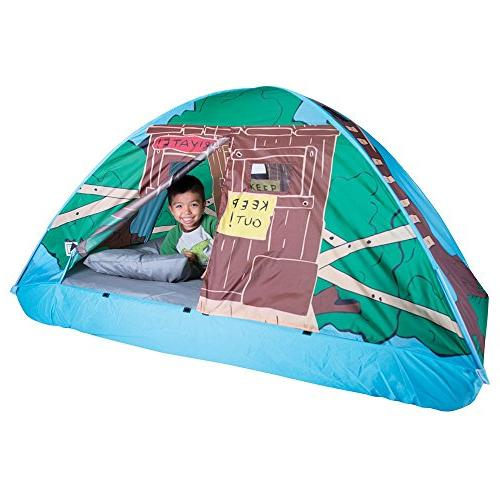 Pacific Play Tents 19790 Kids Tree House Bed Tent Playhouse Twin Size