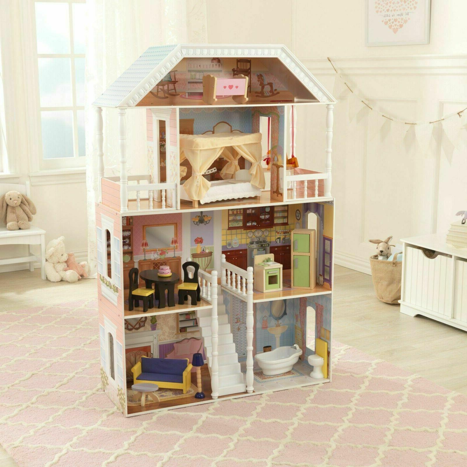 Barbie Size Wooden Dollhouse Furniture