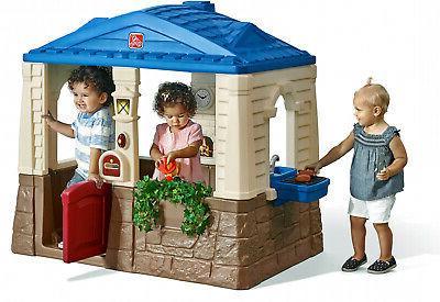 big backyard sweetheart playhouse garden