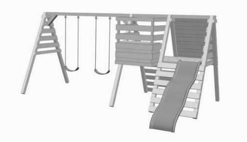 Build Kids Play set Woodworking Plan