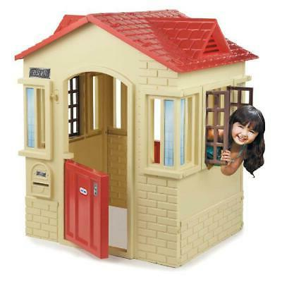 outdoor playhouse for kids toddler toys cottage