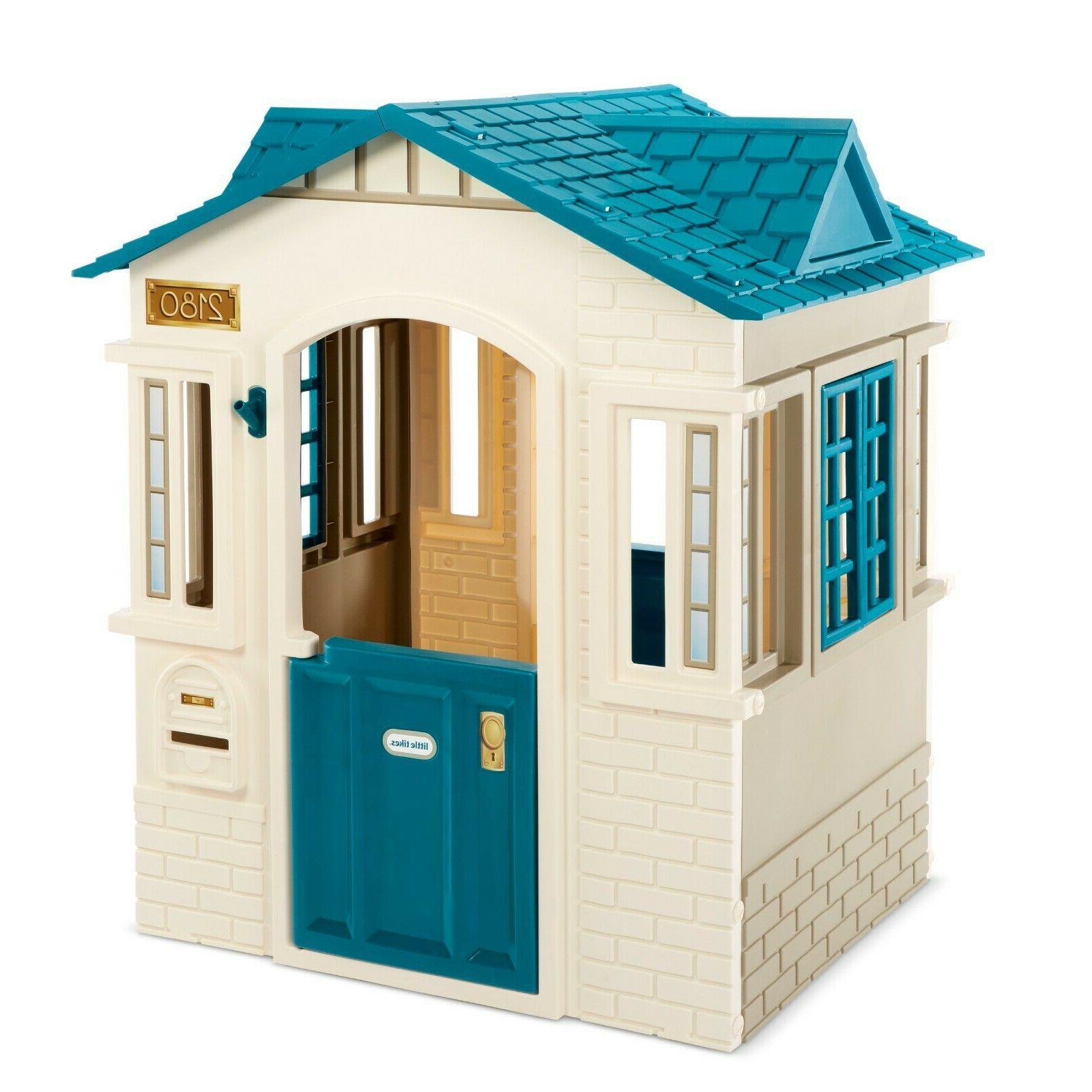 Little Tikes Cape Cottage Playhouse Blue