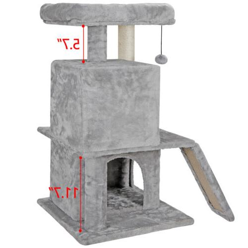 Cat tree Tower For Cats Scratcher Play House Condo