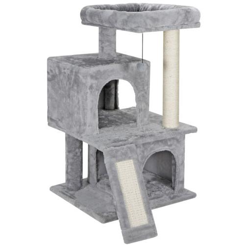"""Cat tree Tower For Play House Condo Pet House 34"""""""