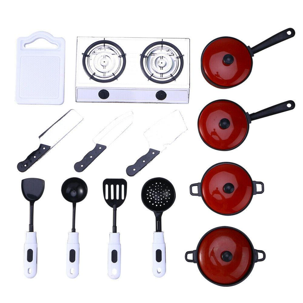 children kids play house toy kitchen utensils