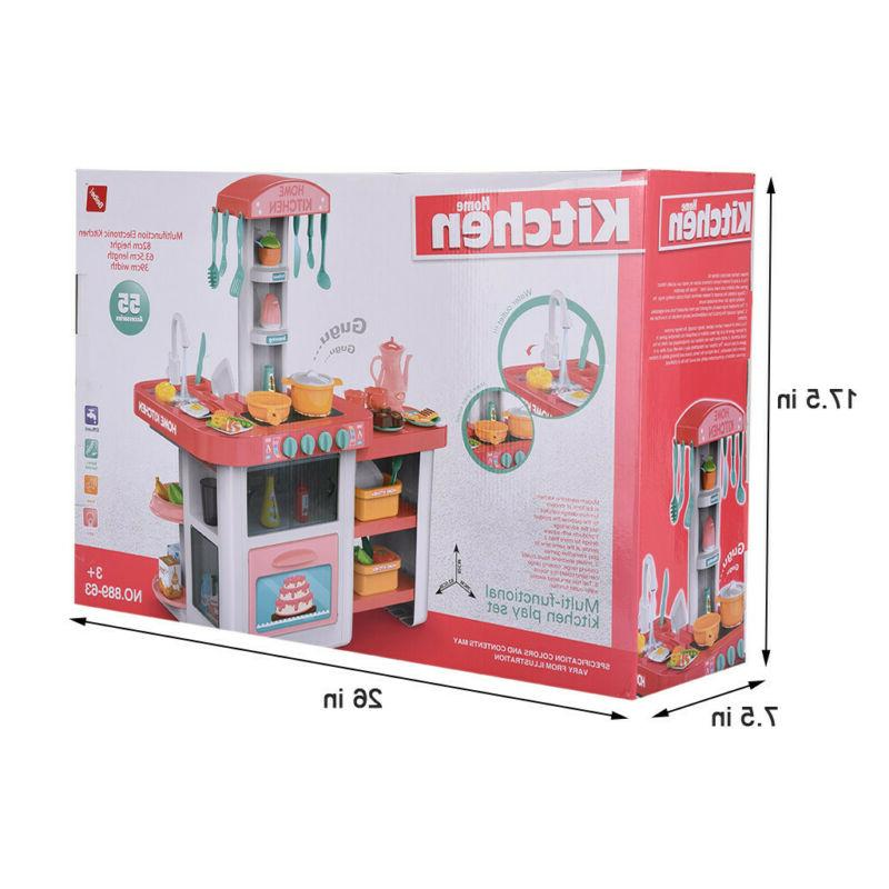 Children's Play And Puzzle Meal Kitchen Set