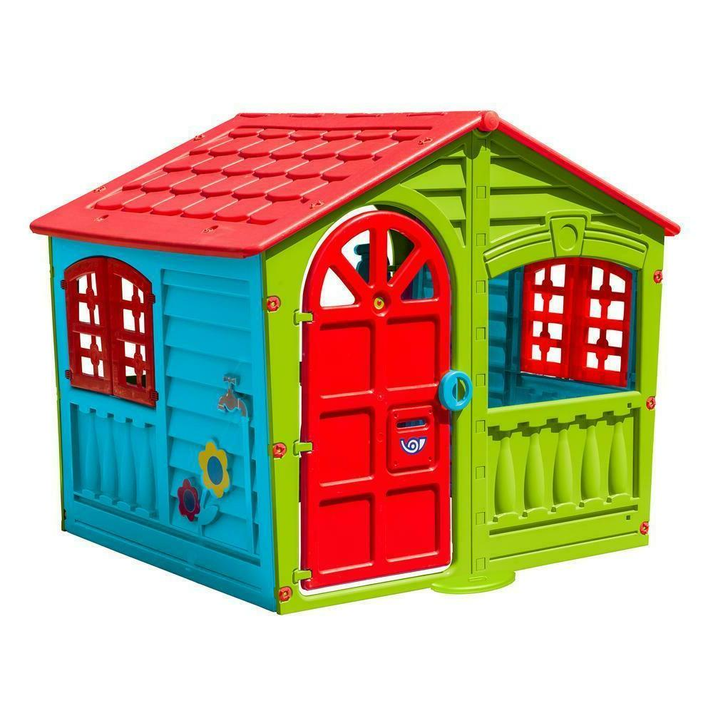 Children's Play House Outdoor Multi-Color Fun