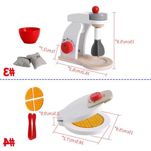 Children's Play House Toy Wooden Simulation Blender Machine
