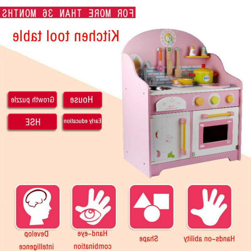 Children's Play House Simulation Cooking Family Game Stove