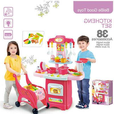children s toys electronic kitchen set