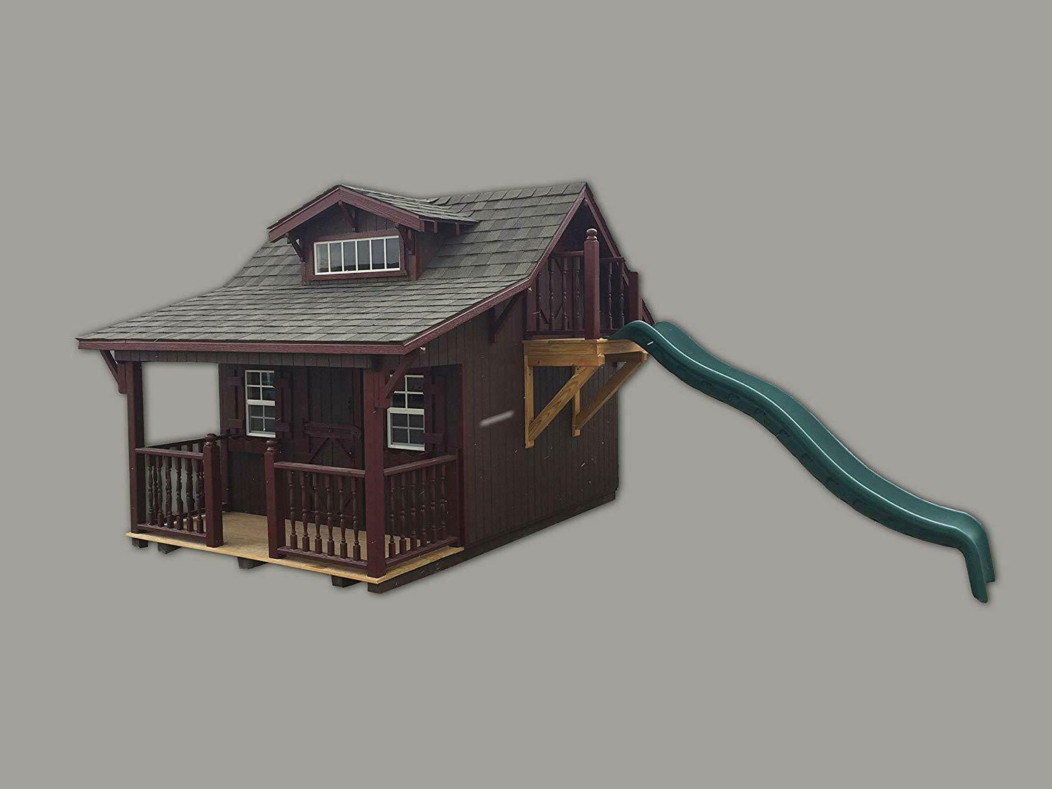 11x10 Playhouse with Slide