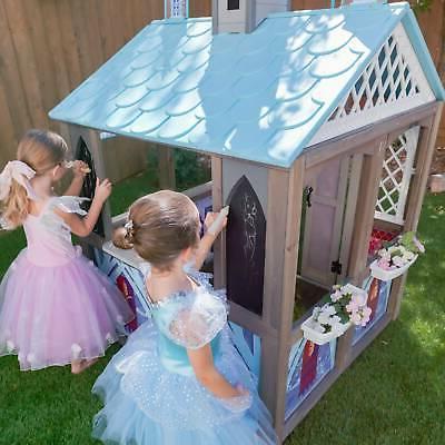 KidKraft Disney Frozen Wooden Playhouse Set Toy