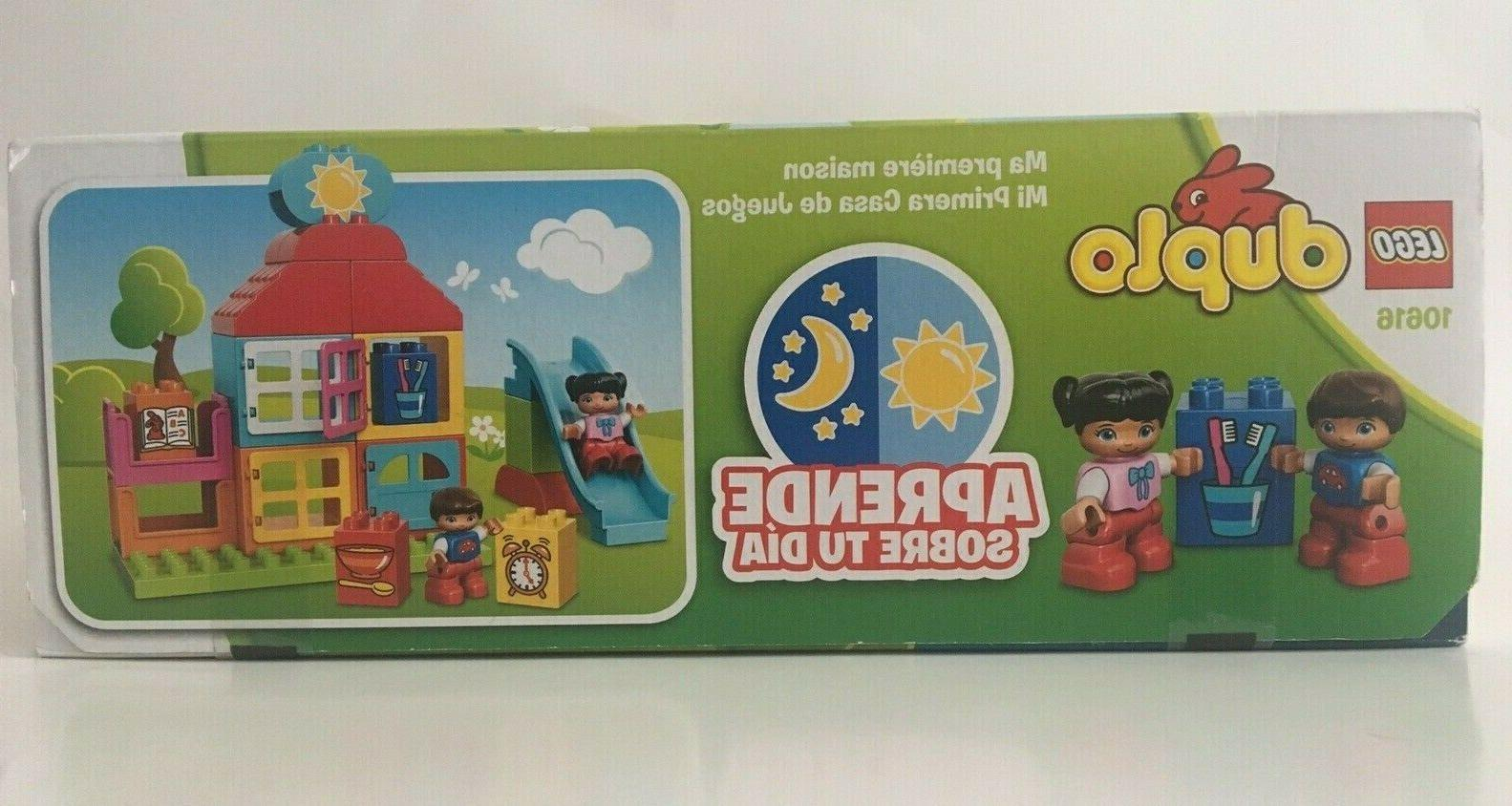 LEGO DUPLO FIRST PLAYHOUSE BUILDING - NEW!!