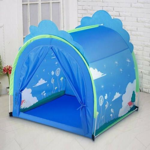 Durable Kids Playhouse Play Tent for Indoor & Outdoor Games,