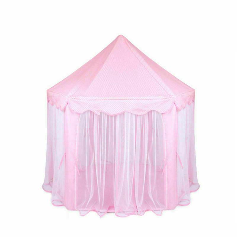 Girls Pink Princess Castle Cute Kids Outdoor