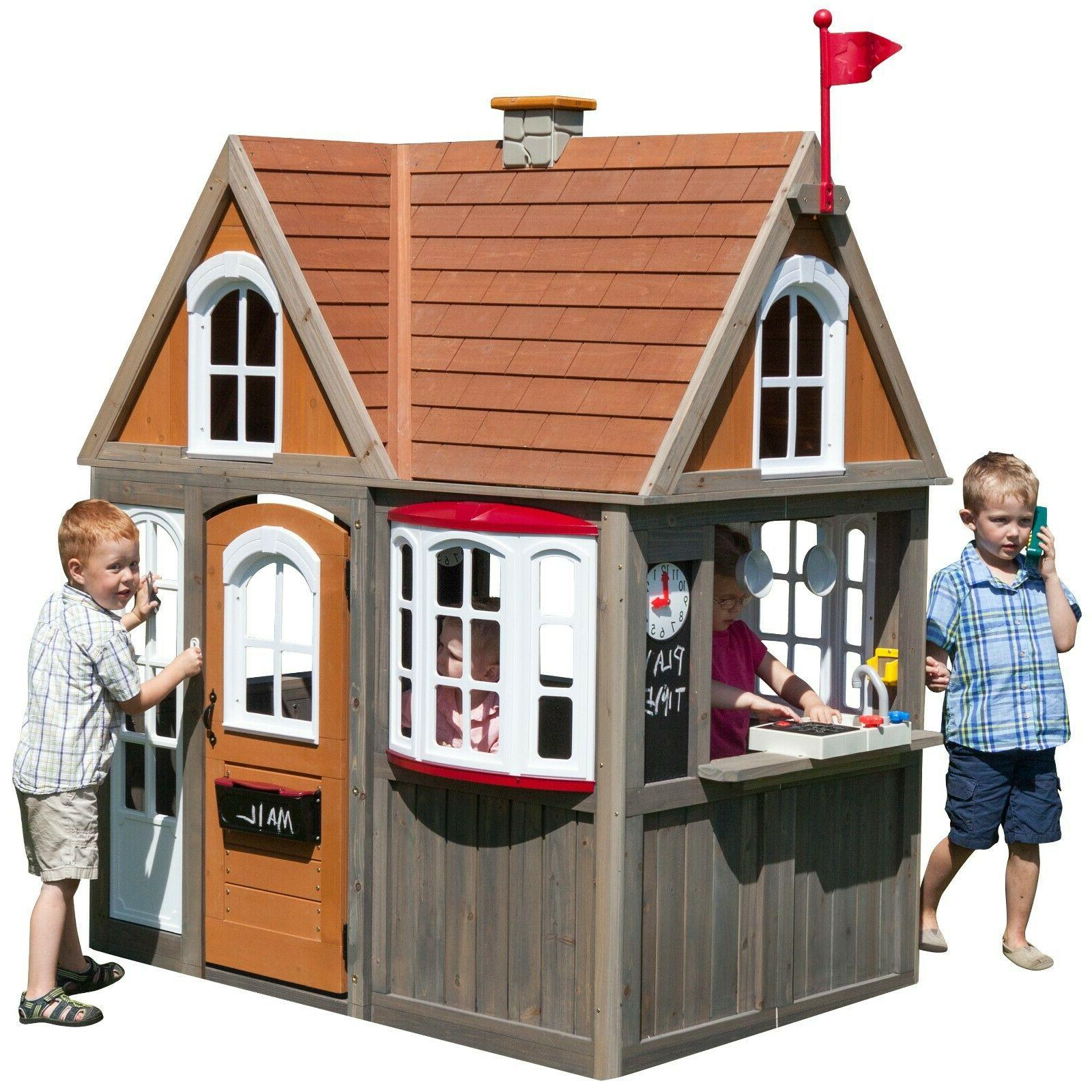 greystone cottage playhouse by