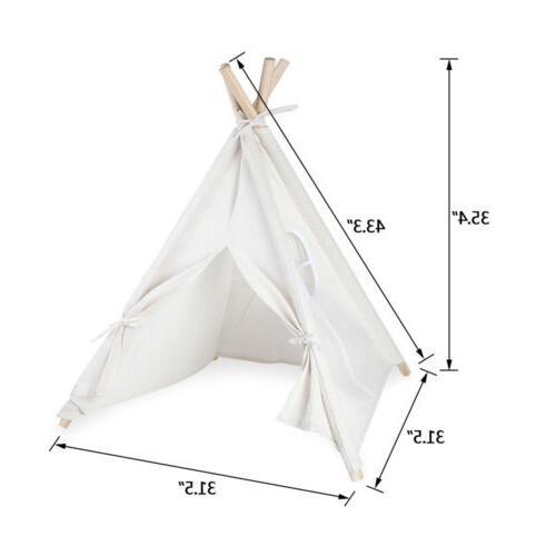 Cotton Children Teepee Sleeping Indoor Dome