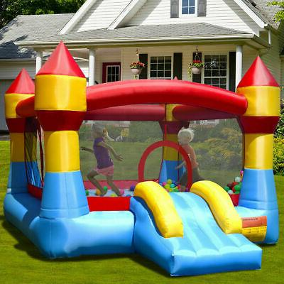 Inflatable Bounce House Castle Jumper Slide Without