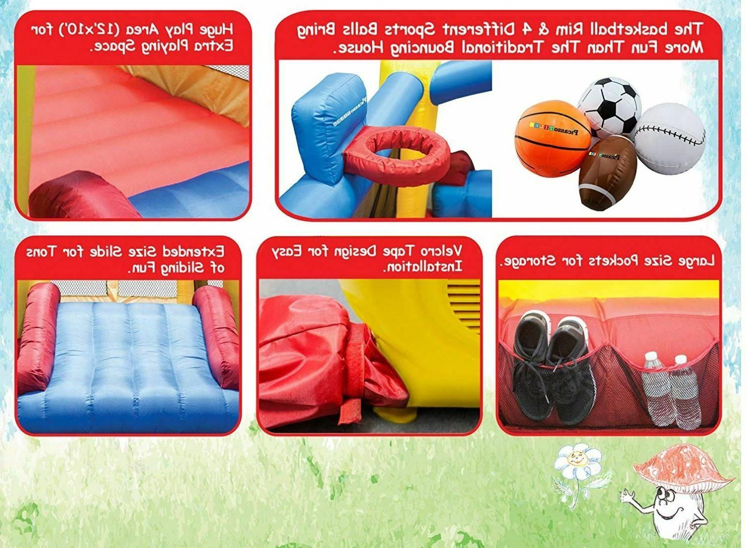 Inflatable Slide with New