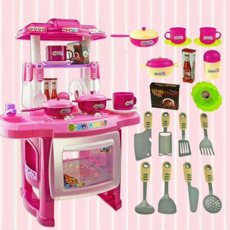 Interesting Kitchen Set House Toy For Children's Home Cooking