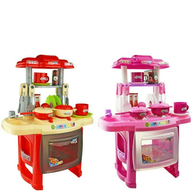 interesting kitchen set play house toy