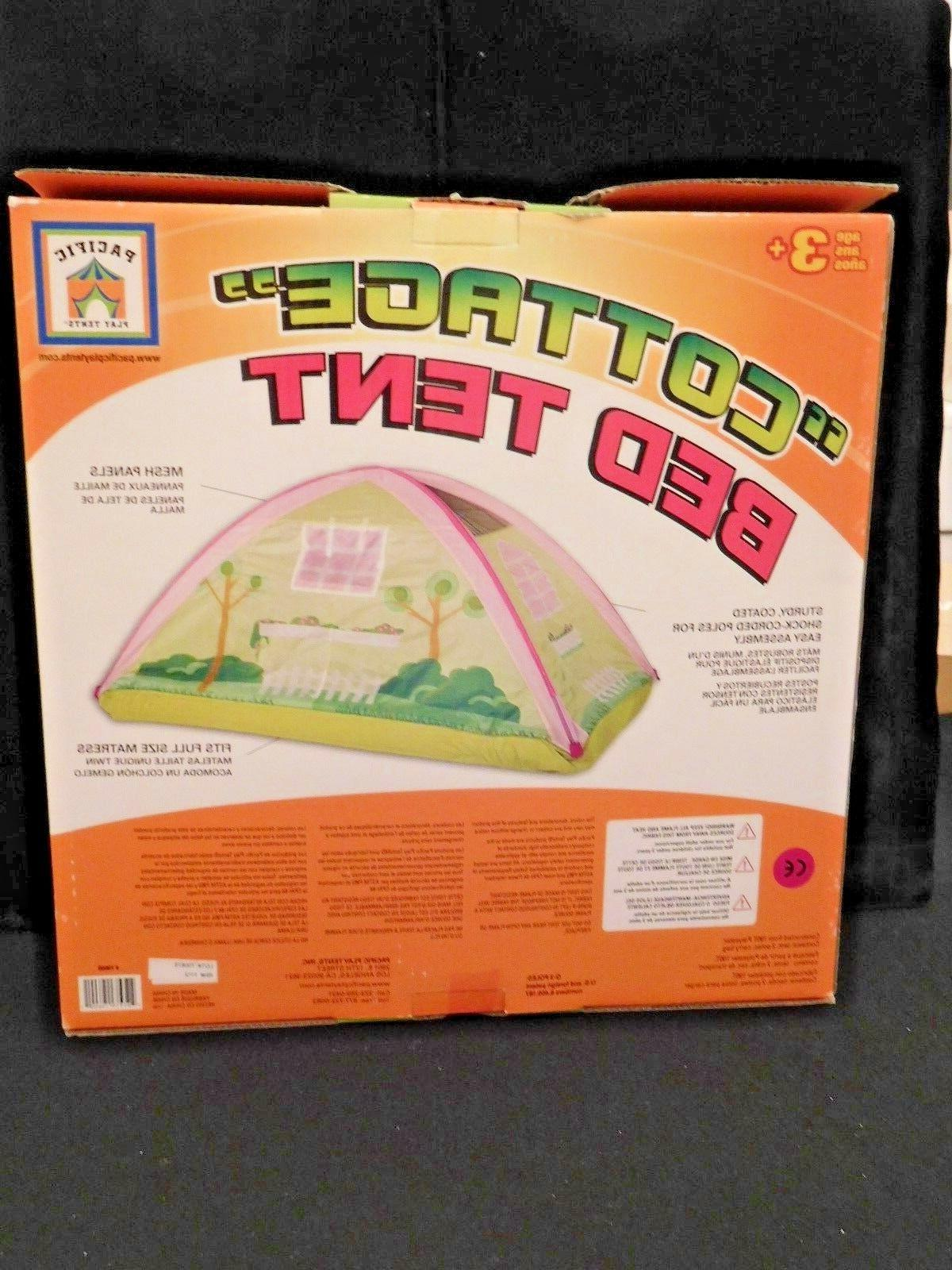 """PACIFIC PLAY TENTS """"COTTAGE"""" TENT - Size NEW/NRFB"""